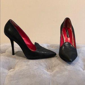 Charles Jourdan black heels